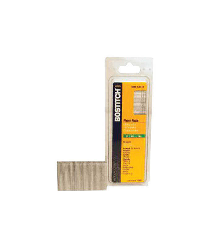 Bostitch  Straight Strip  16 Ga. Finish Nails  2 in. L x 0.06 in. Dia. Smooth Shank  1,000 pk
