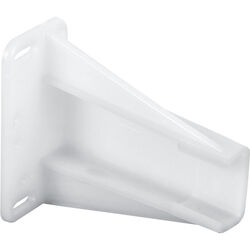 Prime-Line  2-3/4 in. L Plastic  Drawer Slides Track Bracket  2 pk