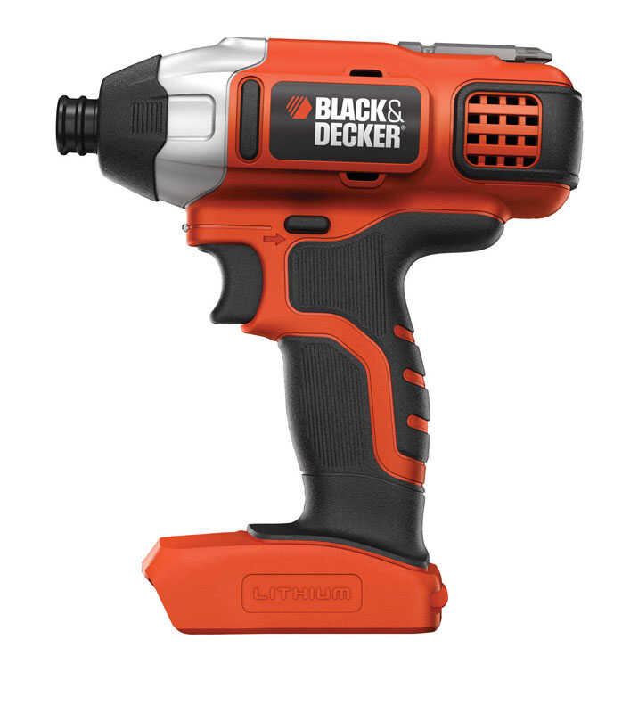 Black and Decker  20 volt 1/4 in. Cordless Compact Drill/Driver  39000 ipm 1