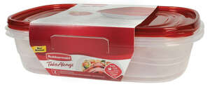 Rubbermaid  Food Storage Container  1 gal.