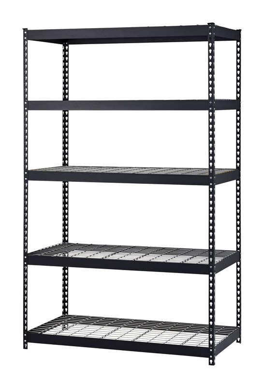 Edsal  Muscle Rack  72 in. H x 48 in. W x 24 in. D Steel  Shelving Unit