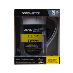 ZeroWater  80 oz. Blue  Water Filtration Pitcher