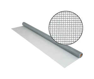 Phifer Wire  36 in. W x 7 ft. L Gray  Fiberglass  Screen Cloth