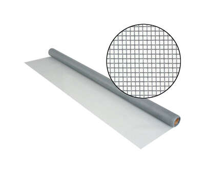 Phifer Wire  36 in. W x 7 ft. L Gray  0.011 Ga. Screen Cloth  Fiberglass
