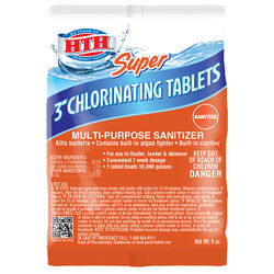 HTH Super Tablet Chlorinating Chemicals 6 oz.