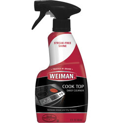 Weiman  Apple Scent Cooktop Cleaner  12 oz  Spray