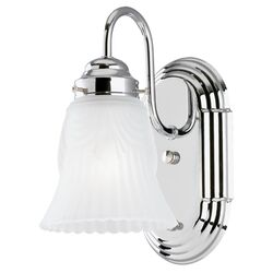 Westinghouse  1  Chrome  Wall Sconce