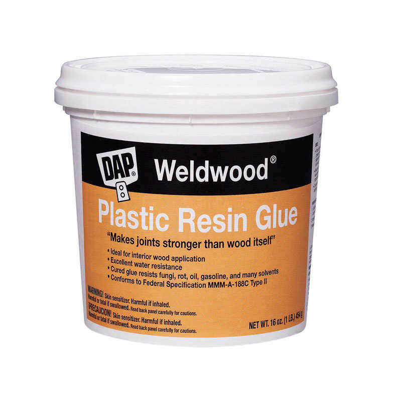 DAP  Weldwood Plastic Resin  High Strength  Plastic  Glue  16 lb.