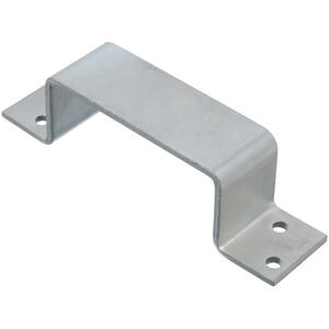 Ace  Zinc-Plated  Silver  Steel  Closed Bar Holder  1 pk