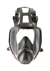 3M Construction Full Face Respirator Gray M 1 pc.