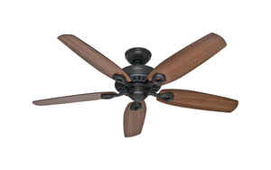 Hunter Fan  Builder Elite  52 in. 5 blade Indoor  New Bronze  Ceiling Fan