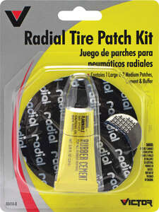 Victor  Tire Patch Kit  For Radial Tires