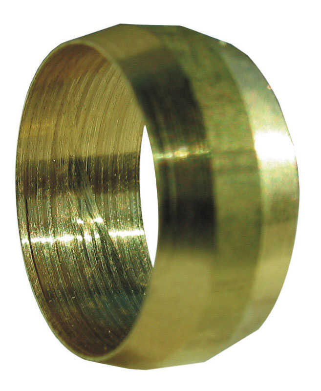 JMF  1/2 in. Compression   Brass  Compression Sleeve