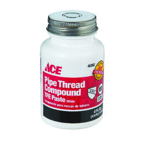 Ace  White  Pipe Thread Compound  4 oz.