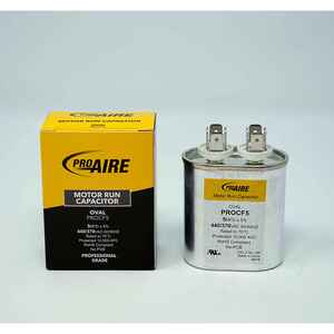 Perfect Aire  ProAire  5 MFD  370 volt Oval Run Capacitor  1 pk