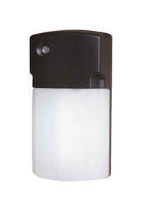 All-Pro  Dusk to Dawn  LED  Wall Pack Light Fixture  Hardwired