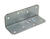 Simpson Strong-Tie  2 in. W x 6 in. L Galvanized Steel  Medium L-Angle
