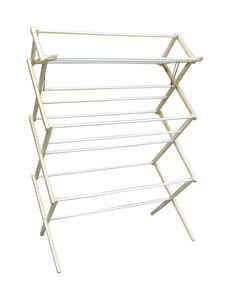Madison Mill  51.5 in. H x 16 in. W x 35.5 in. D Wood  Clothes Drying Rack