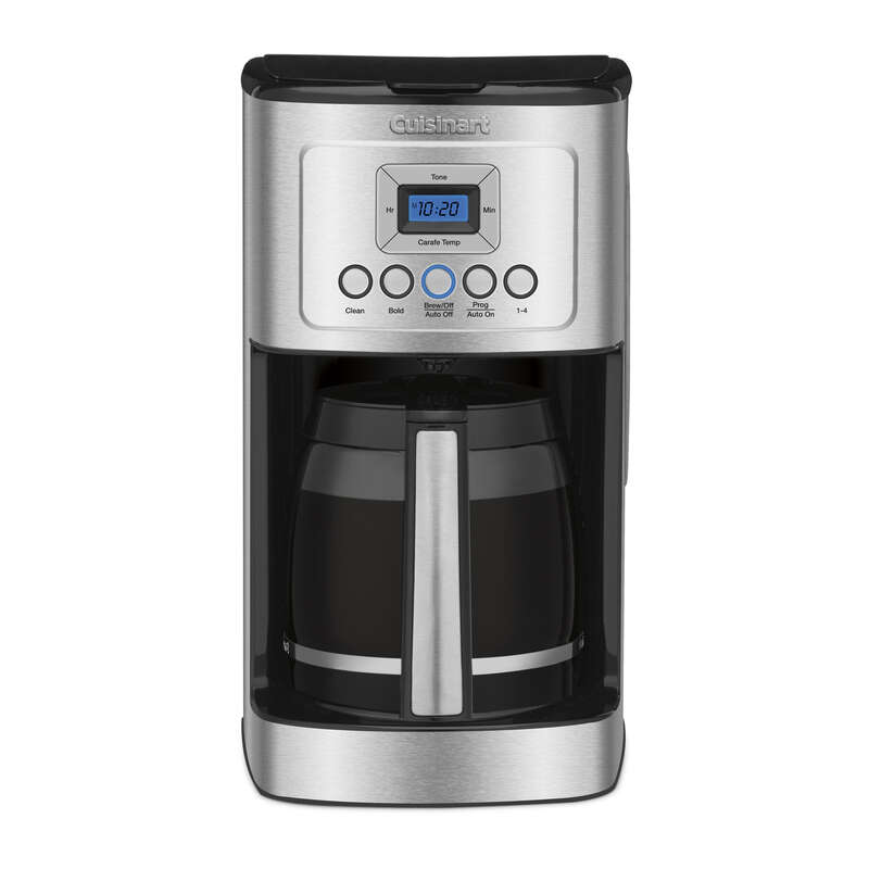 Cuisinart  Perfectemp  14  Black/Silver  Coffee Maker