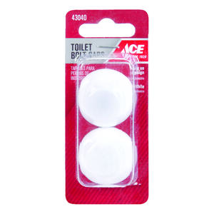 Ace  Toilet Bolt Caps  Plastic