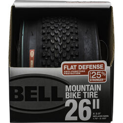 Bell Sports Flat Defense 26 in. Rubber Bicycle Tire 1 pk