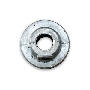 Chicago Die Cast  1 1/2 in. Dia. Zinc  Single V Grooved Pulley