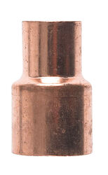 Mueller Streamline 3/4 in. Sweat x 1/2 in. Dia. Sweat Copper Coupling with Stop