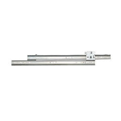 Knape & Vogt  18 in. L Steel  Ball-Bearing Rollers  Drawer Slide  2 pk