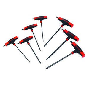 Craftsman  T40  T-Handle  Torx Hex Key Set  T40 in. 7 pc.