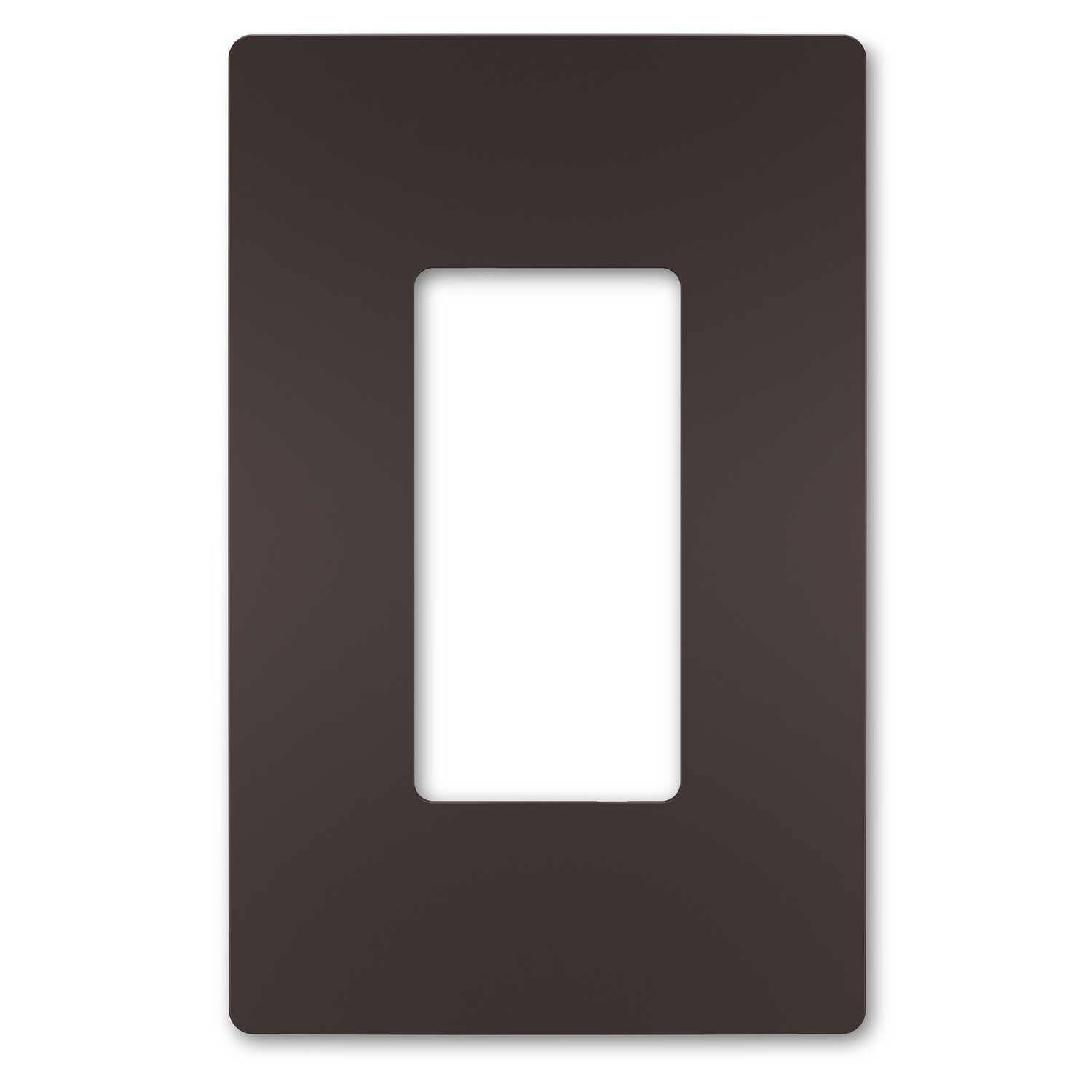 Legrand  Radiant  Bronze  1 gang Thermoplastic  GFCI/Rocker/Toggle  Wall Plate  1 pk