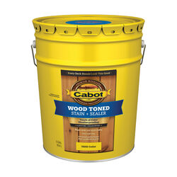 Cabot Transparent Cedar Oil-Based Penetrating Oil Deck and Siding Stain 5 gal.