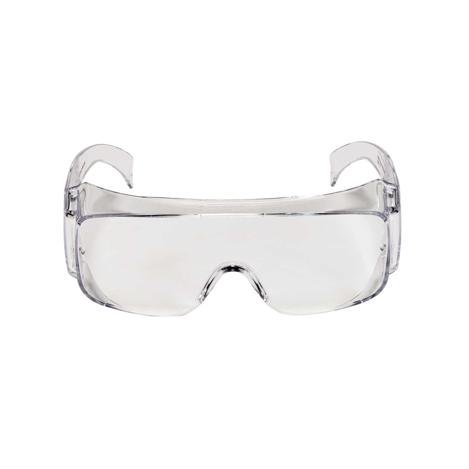 3M  Clear Frame 1 pk Clear Lens Safety Glasses