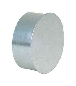 Imperial Manufacturing  7 in. Dia. Galvanized steel  Pipe End Cap