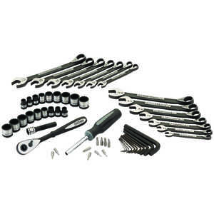 Craftsman  56 pc.  18 mm  x 3/8 in. drive  Metric and SAE  12 Point Mechanic�s Tool Set  56 pc.