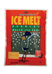 Road Runner  Sodium Chloride, Calcium Chloride and Magnesium Chloride  Pellet  Ice Melt  20 lb.