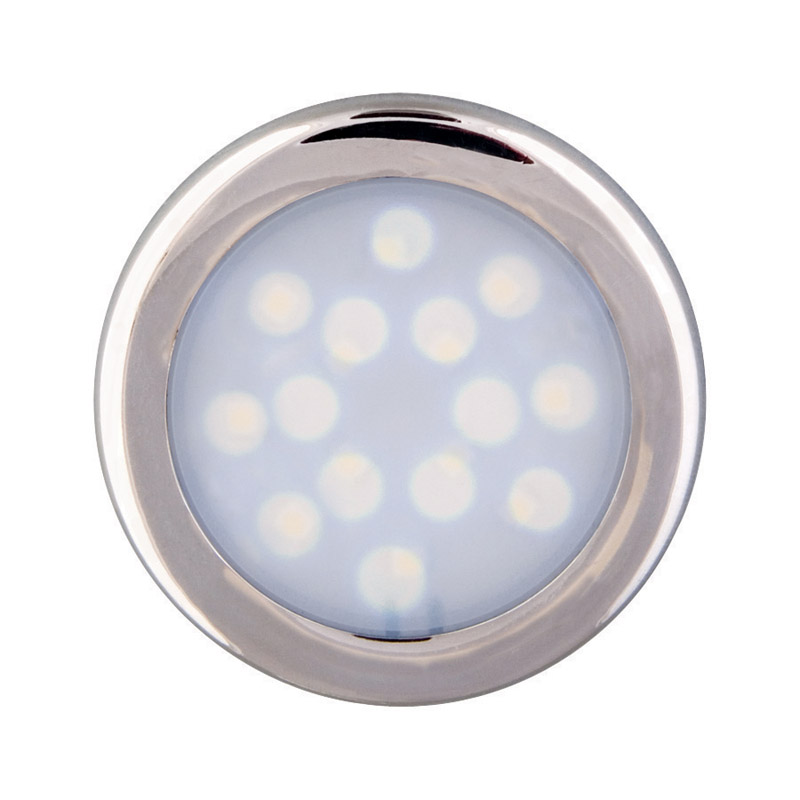 Amerelle  Silver  Plug-In  LED  Puck Light  1 pk