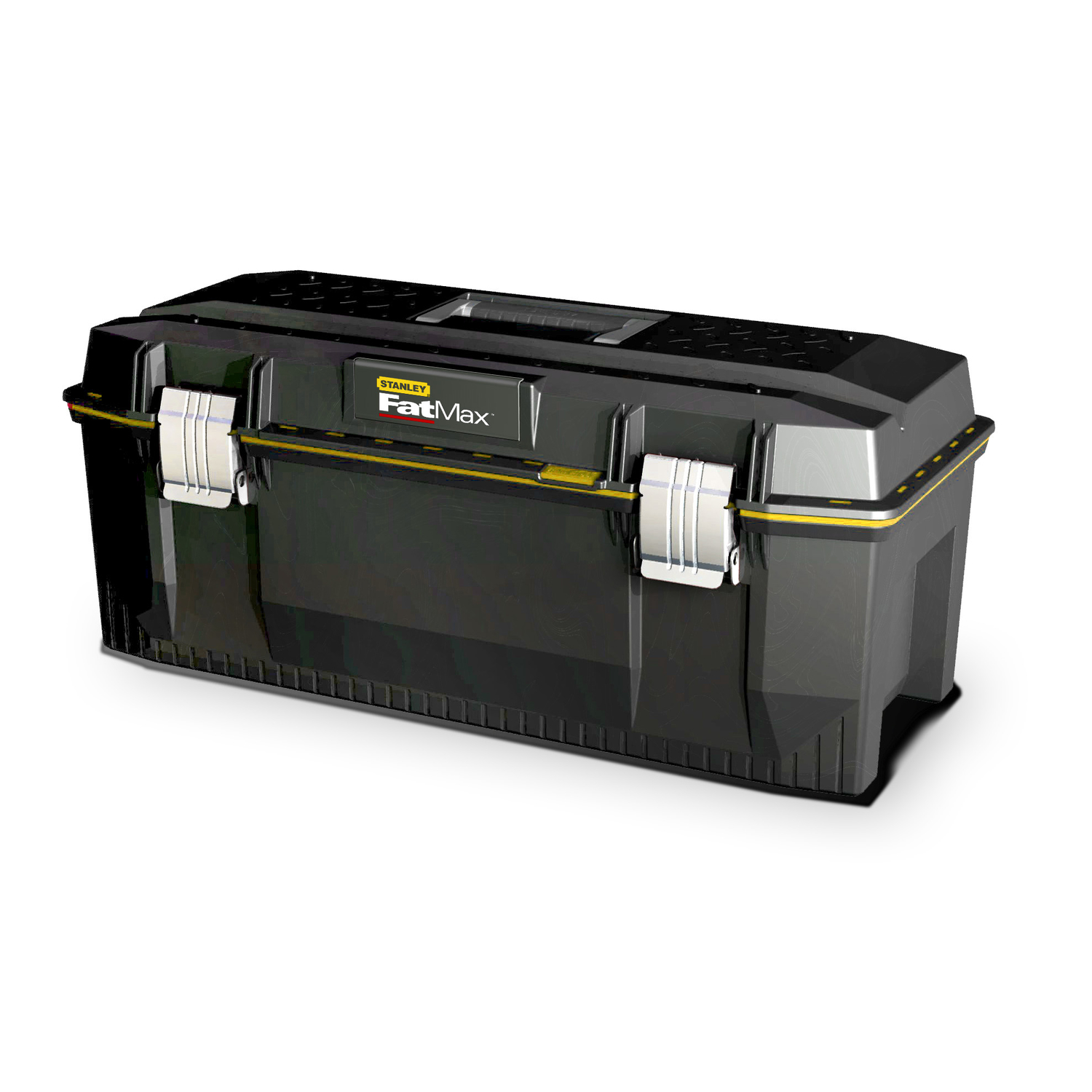 Stanley  13 in. W x 11 in. H Foam  Tool Box  Black  28 in.