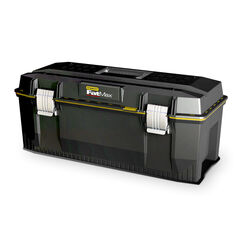 Stanley  FatMax  28 in. Foam  Tool Box  12.5 in. W x 11 in. H Black/Yellow