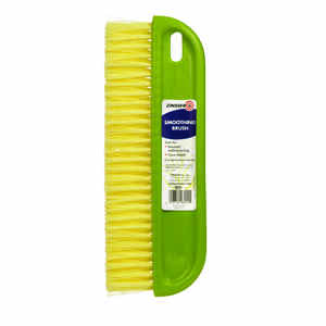Rust-Oleum  Zinsser  12 in. W Plastic  Wallpaper Smoothing Brush  Yellow