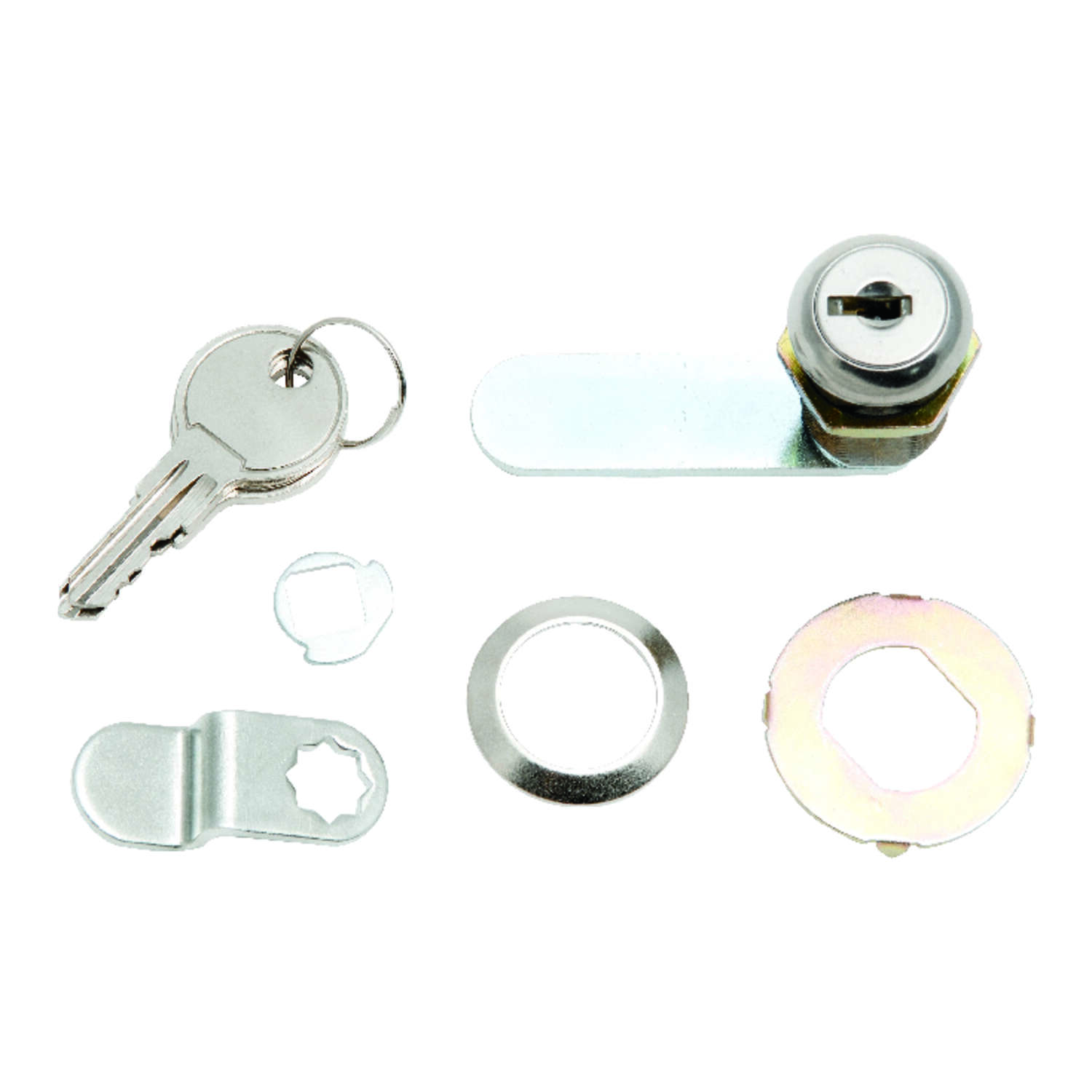 Ace Chrome Silver Brass Cam Lock