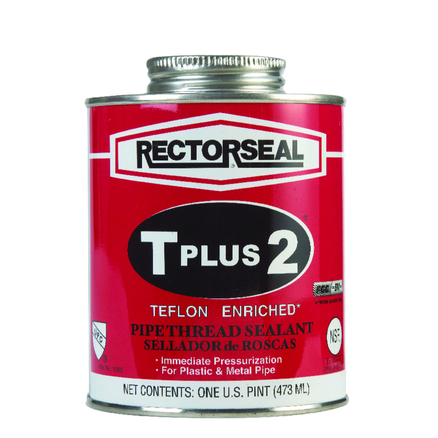 Rectorseal  White  Pipe Thread Sealant  16 oz.