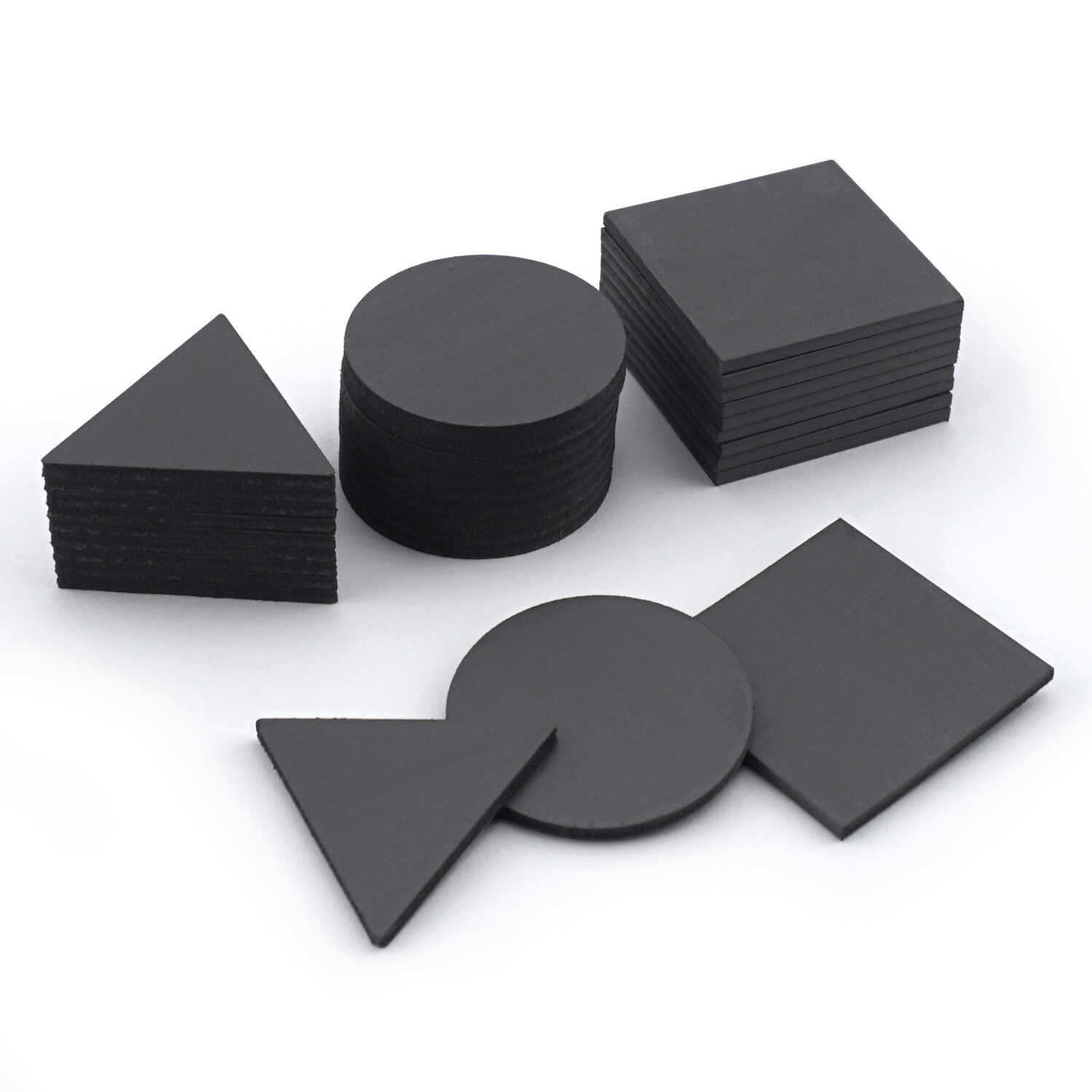 Master Magnetics  .08 in. Ferrite Powder/Rubber Polymer Resin  Flexible Magnetic Shapes  0.8 MGOe Bl
