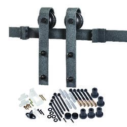 ACME  78 in. L Sliding Door Track Kit