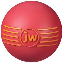 JW Pet  iSqueak  Assorted  Ball  Rubber  Dog Toy  Medium