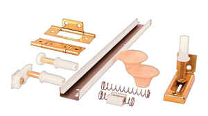 Prime-Line  White  Steel  Bi-fold Hardware Kit  1 pk