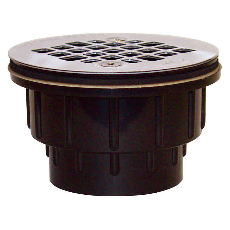 Sioux Chief  2 in. Dia. ABS  Shower Drain