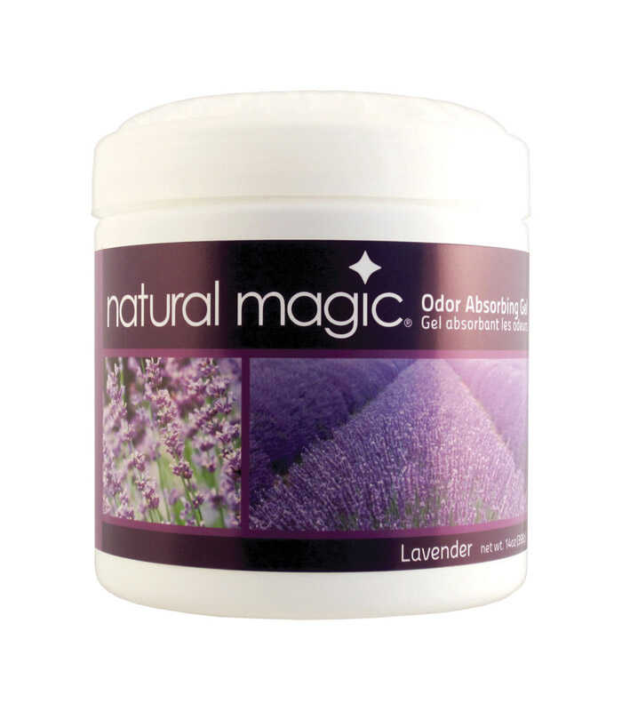 Gonzo  Natural Magic  Lavender Scent Odor Absorber  14 oz. Gel