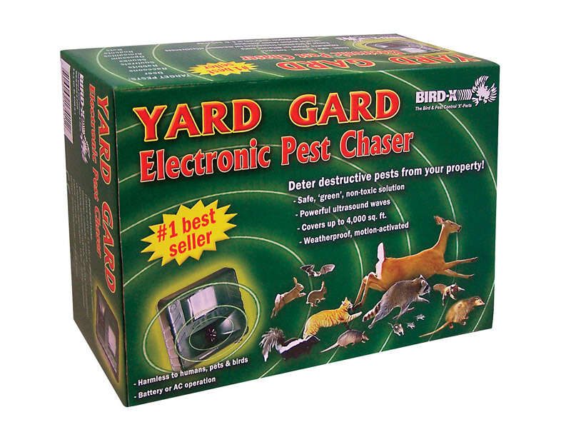 Bird-X Yard Gard Electronic Pest Repeller