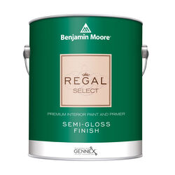 Benjamin Moore Regal Select Semi-Gloss Base 1 Paint and Primer Interior 1 gal.