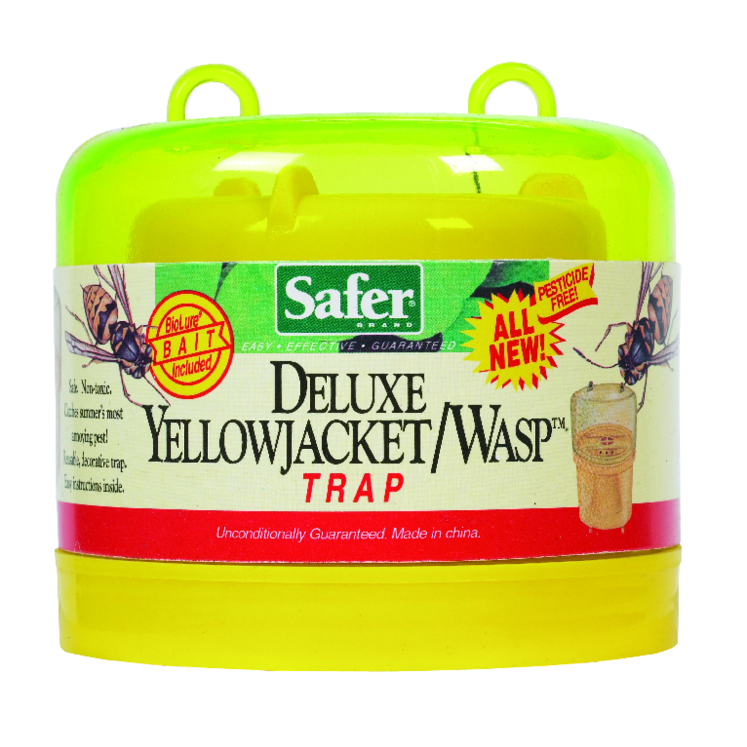 Safer Brand  Yellow Jacket and Wasp Trap  1 pk
